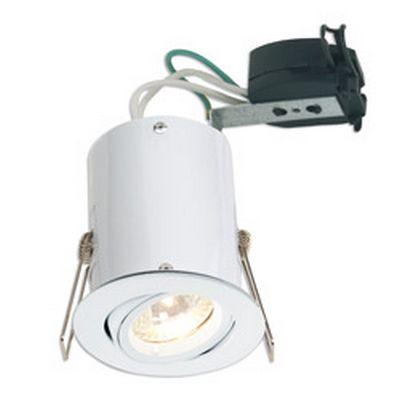 ceiling downlight fitting dimmable led 5watt gu10 mains voltage