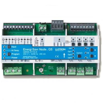 Lutron HomeWorks QS 4 Switched Zones, 0-10 V Dimming Module - LQSE ...