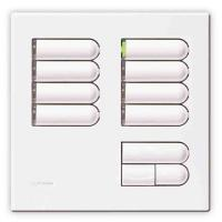 Lutron European Wallstation Replacement Faceplate 8 Scene