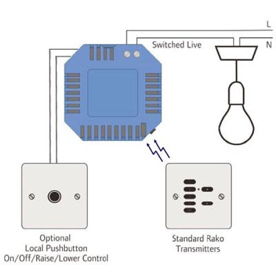 rako lighting rdt pill 401 rako wireless lighting rmt pill 250 watt in wall light dimmer rako lighting wiring diagrams at gsmportal.co
