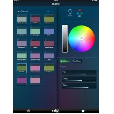 rako lighting ipad application remote control ra ipad rako