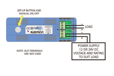 rled75cv1 rako wireless lighting rled75 cv1 single channel 75w led driver roku wiring diagram at panicattacktreatment.co