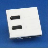 Rako wireless lighting euromod 2 buttons keypads - White