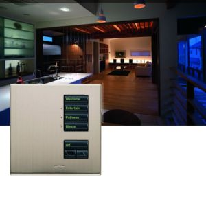 Lutron GRAFIK Eye QS pared seeTouch