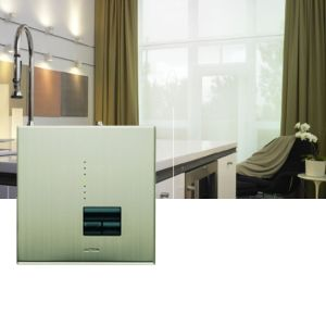 Lutron Rania Satin Nickel Dimmer