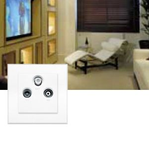 Lutron TV Data Telephone Socket Range