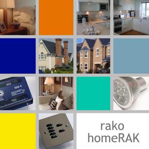 rako wireless lighting controls wall mounted keypads
