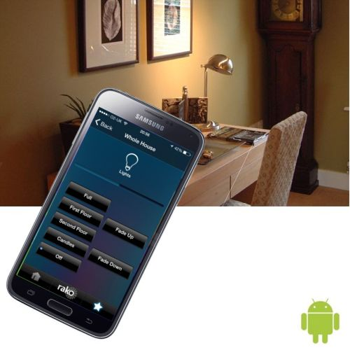 Android remote control lighting