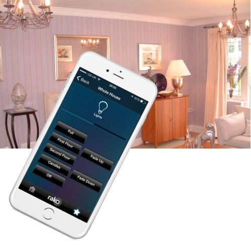 iPhone remote control lighting