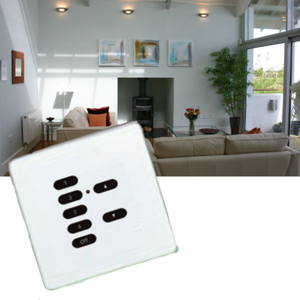 Rako Lighting wireless Keypads - Hidden Fixings