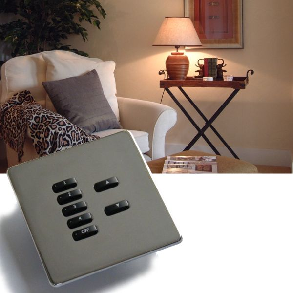 Rako lighting wireless rcm keypads - Hidden fixiing