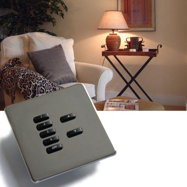 Rako lighting wireless rcm keypads - Hidden fixiing