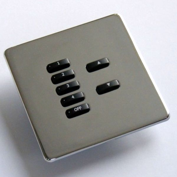 Rako Lighting Keypads - Polished Stainless Steel Hidden Fixing